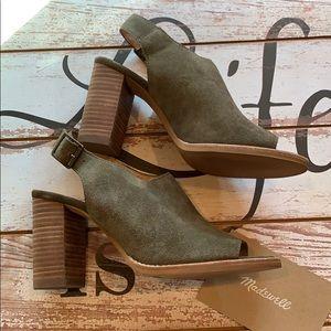 Madewell Stacked Heel Slingback Shoe